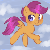 scootaloop by pinkfrilly