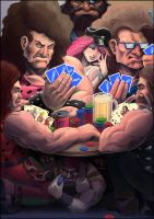 Final Fight Poker Night by fedde