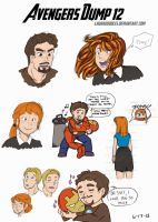 Avengers Dump 12 by LauraDoodles
