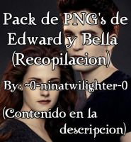 Pack de Edward Y Bella by 0-ninatwilighter-0