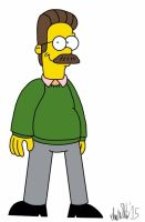 Favorite Characters: Ned Flanders by TheIransonic
