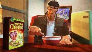 SFM| Cereal In The Morning by Atlasuir