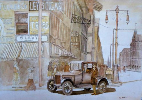 New York 1920 by lizard-e-a