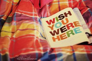 Wish you were here by Silviaa92