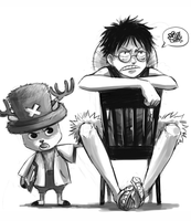 OP - Luffy needs glasses 1 by FerioWind