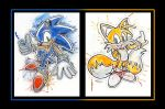 Sonic and Tails by LukeFielding