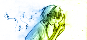 Music Make My Life Colorful... by ReenaCat