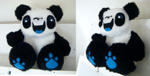 Giant panda commission by loveandasandwich