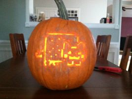 Nyan Pumpkin by MisterEclipse