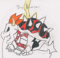 Dry Bowser Color by metal-boo