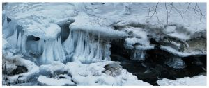 Stalactites of ice by cipriany