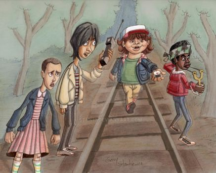 Stranger Things Kids by Stnk13
