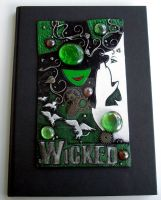 Wicked Custom Journal Cover by MandarinMoon