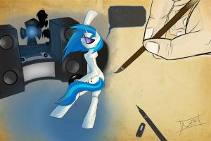 Vinyl - Time to party!!! by Aerostoner