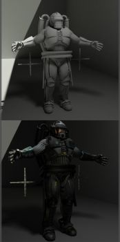 WIP-Soldier Texture Job by Incubusocity