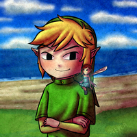 Collab - Link and Paz by Zeepla