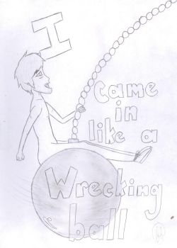 LOUIS CAME IN LIKE A WRECKING BALL! by iKyleex3