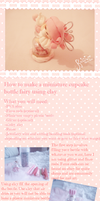 Miniature cupcake bottle fairy TUTORIAL by KawaiiPetitPois