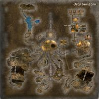 Orcs Dungeon by gulavisual