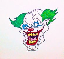 Laughing Clown by TheJokesOnYou