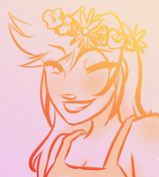 Give Athena a Flower Crown 2k14 by ktabeau