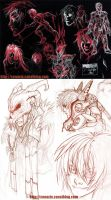 late 2010 sketches by youffy