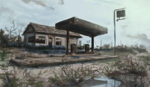 Gas station by c-a-s