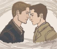 Destiel by avalonlights