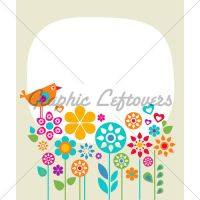Easter Card Template by kingofvectors