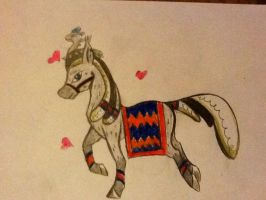 Traditional Stallion Breedable by Chickfila-Chick
