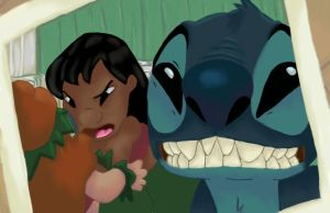 Lilo and Stitch by stitch-666