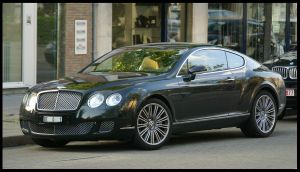 Bentley Continental GT Speed by C0LL1