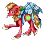 Thanks For The Lift, Macintosh by Downpourpony
