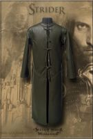 Leather Coat Strider (inspired Aragorn LOTR) by Svetliy-Sudar