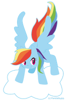 MLP Rainbow Dash by Pandablubb