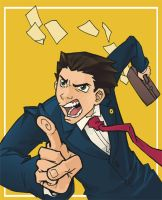 Phoenix Wright by ChrissyDelk