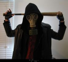 Gasmask Stock I by Zinantis