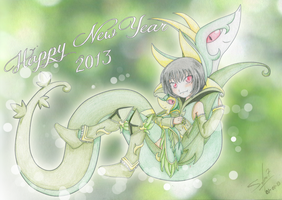 Happy New Year 2013 by Naraku12