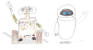WALL-E and EVE by Dogman15
