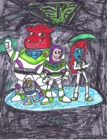Buzz Lightyear of Star Command by SonicClone