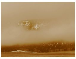 Mountain Mist in Sepia by Bladewing-Flash