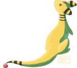 Ampharos by Valiona