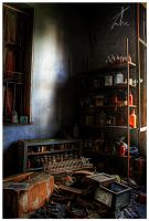 Abandoned Pharmacy HDR by ZeeGrizzly