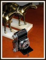 Kodak Retina 1, side by FallisPhoto