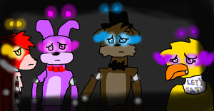 four lost souls by Nightmarewolf365
