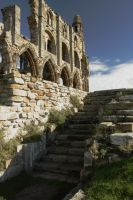Whiby Abbey Steps by astrogoth13