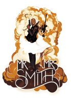 Mr and Mrs Smith Wedding by deadlymike