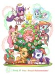Merry Christmas with My little pony! by kongyi
