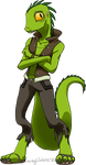 Lizard Man by CelestNny
