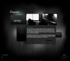 Dark Website Template by Dreaverr